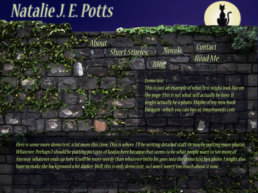 Natalie J E Potts Website