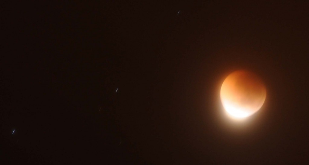 Lunar Eclipse over Adelaide